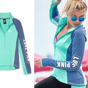 PINK by Victoria's Secret Zip Up Pull Over HW7165
